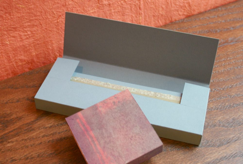 What to Do With Scrap Cardstock: Bookmark Box