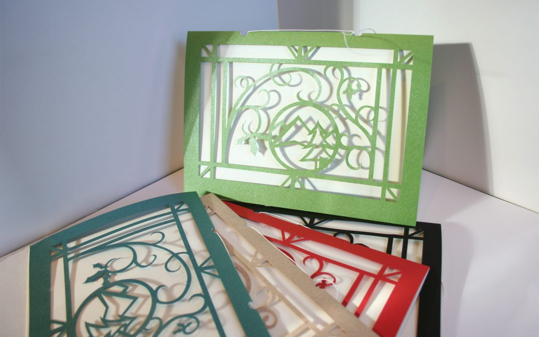 Crafting a Handmade Christmas Card